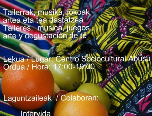 Fiesta intercultural en Abusu!