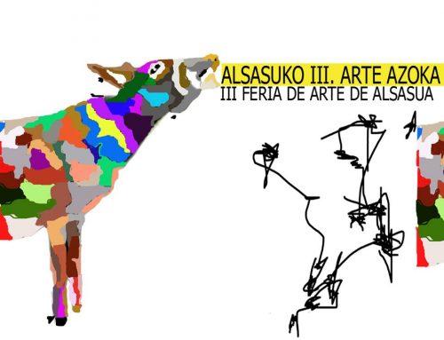 Nuestro Taller de Arte en la Feria de Alsasua