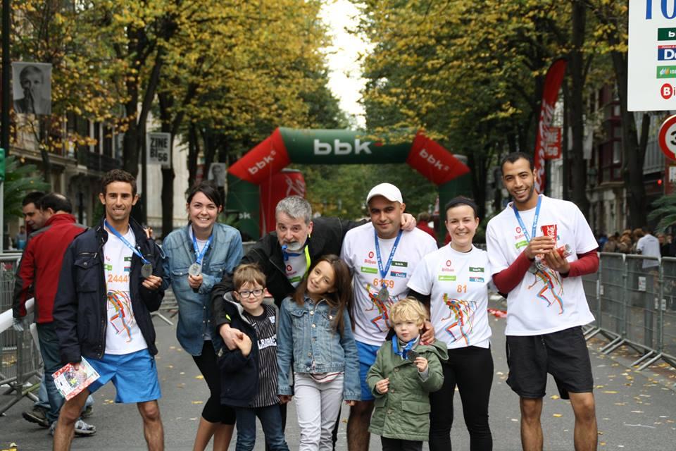 Herri Krosa Bilbao meta participantes