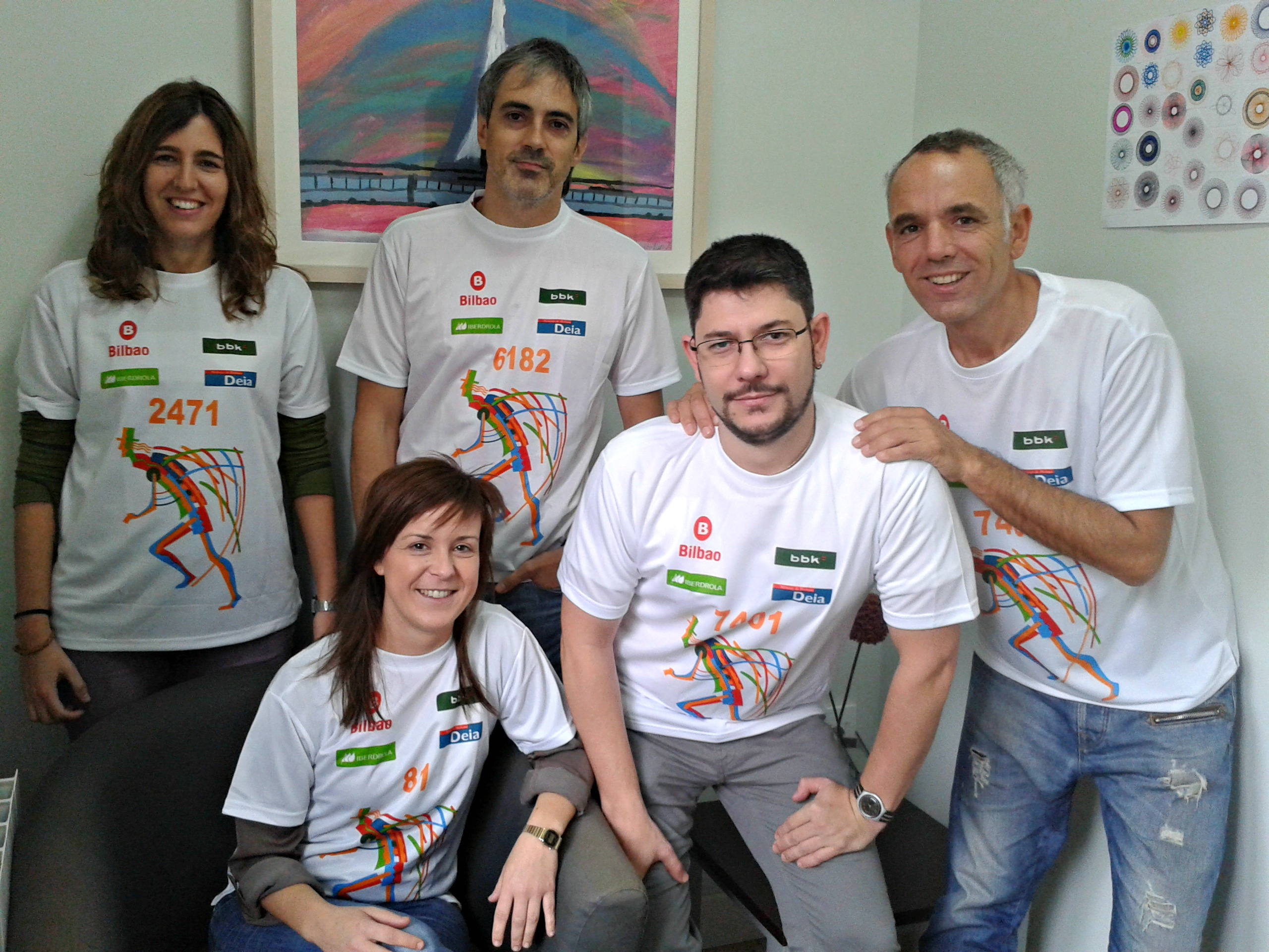 Participantes Herri Krosa Bilbao 2014